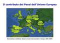2. Il contributo dei Paesi dell'Unione Europea