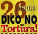 26 giugno - Giornata mondiale ONU a sostegno delle vittime di tortura
